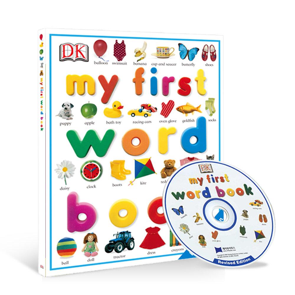 DK My First Word Book (Hardcover 1권 + CD 1장, Saypen Edition)