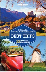 Lonely Planet Germany, Austria & Switzerland's Best Trips (Paperback)