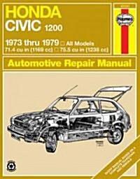 Honda Civic 1200 Owners Workshop Manual (Paperback, Rev ed)