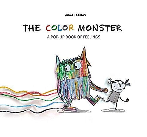 The Color Monster: A Pop-Up Book of Feelings (Hardcover)