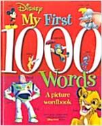 [중고] Disney's My First 1,000 Words (Hardcover)