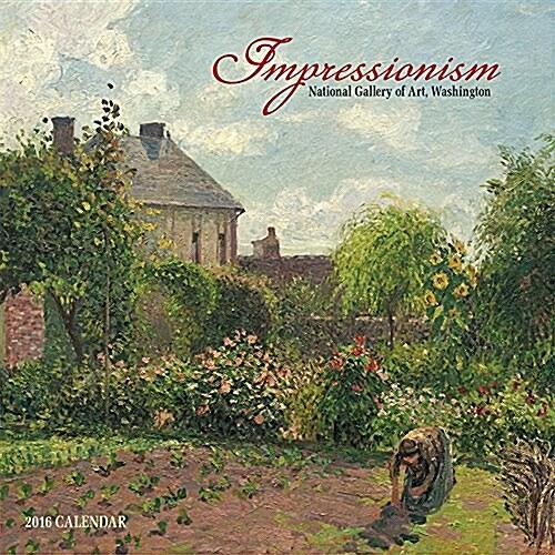 Impressionism 2016 Mini Wall Calendar (Paperback)