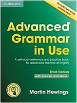 Advanced Grammar in Use Book with Answers and Interactive eBook : A Self-Study Reference and Practice Book for Advanced Learners of English (Package, 3 Revised edition)