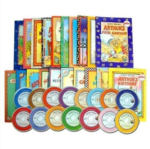 아서 어드벤쳐 Arthurs Adventure 20종 Set + 워크북 20종 세트 증정 (Paperback 20권 + CD 20장)