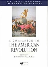 A Companion to the American Revolution (Paperback)