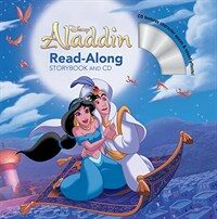 Aladdin Read-Along Storybook and CD (Paperback)