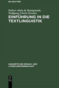 Einführung in die Textlinguistik