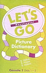 Lets Go Picture Dictionary (2 Cassettes Tape)