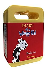 Diary of a Wimpy Kid Boxed Set: Diary of a Wimpy Kid, Rodrick Rules, the Last Straw, Dog Days (MP3 CD)
