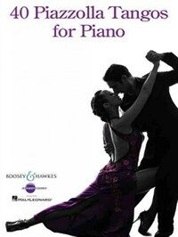 40 Piazzolla Tangos for Piano (Paperback)