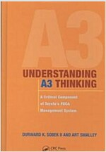Understanding A3 Thinking: A Critical Component of Toyota's Pdca Management System (Hardcover)