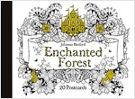 Enchanted Forest : 20 Postcards (Hardcover)