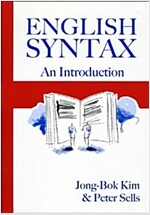English Syntax: An Introduction (Paperback)