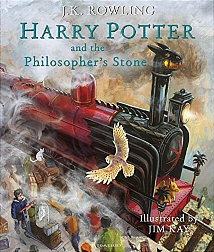 Harry Potter and the Philosophers Stone : Illustrated Edition (Hardcover, Illustrated)