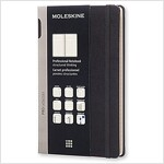 Moleskine Pro Collection Professional Notebook, Large, Black, Hard Cover (5 X 8.25) (Other)