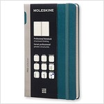 Moleskine Pro Collection Professional Notebook, Large, Tide Green, Hard Cover (5 X 8.25) (Other)