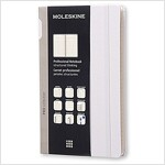 Moleskine Pro Collection Professional Notebook, Large, Aster Grey, Hard Cover (5 X 8.25) (Other)