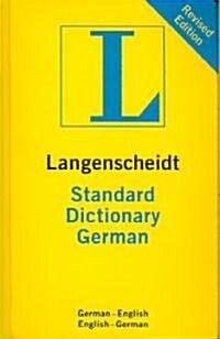 Langenscheidt Standard German Dictionary (Paperback, Bilingual, Indexed, TH)