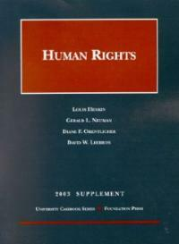Human rights . 2003 : supplement