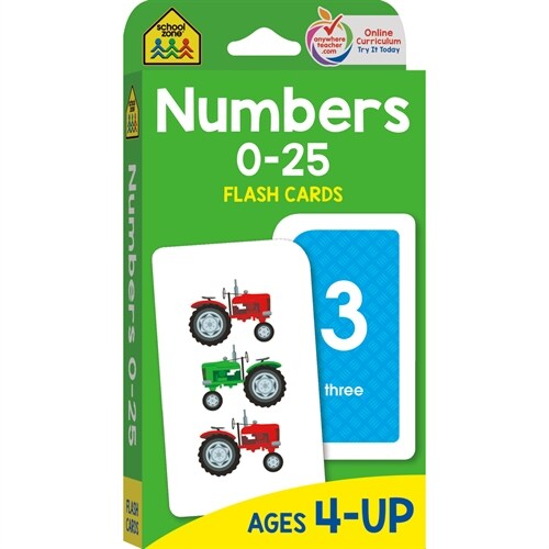 Numbers 0-25 (Cards, FLC)