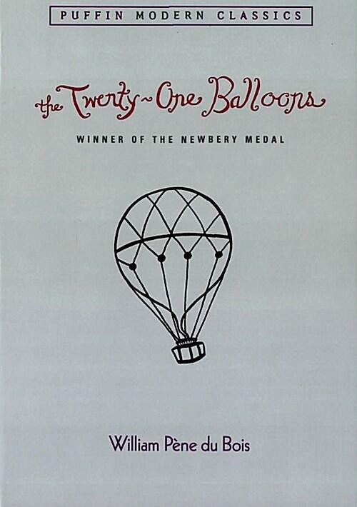 The Twenty-One Balloons (Puffin Modern Classics) (Paperback)