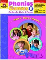 Phonics Games Level D (Paperback)