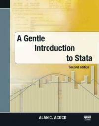A gentle introduction to Stata 2nd ed