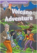 Oxford Read and Imagine: Level 4:: Volcano Adventure audio CD pack (Paperback)