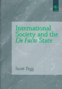 International society and the de facto state