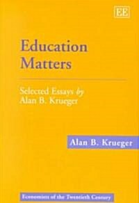 Education Matters (Hardcover)