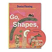 노부영 Go, Shapes, Go! (원서 & CD) (Hardcover + CD)