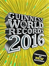 Guinness World Records 2016 (Hardcover)