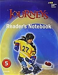 Journeys: Readers Notebook Grade 5 (Paperback)