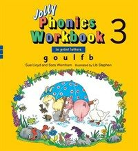 Jolly Phonics Workbook 3 (Paperback)
