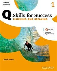 Q Skills for Success: Level 1: Listening & Speaking Student Book with IQ Online (Package, 2 Revised edition)