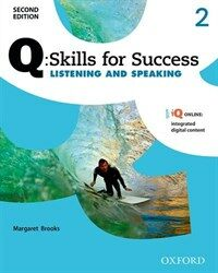 Q Skills for Success: Level 2: Listening & Speaking Student Book with IQ Online (Package, 2 Revised edition)