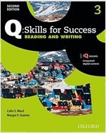 Q Skills for Success: Level 3: Reading & Writing Student Book with IQ Online (Package, 2 Revised edition)