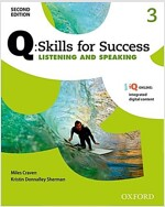 Q Skills for Success: Level 3: Listening & Speaking Student Book with IQ Online (Package, 2 Revised edition)