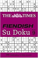 The Times Fiendish Su Doku Book 9 : 200 Challenging Puzzles from the Times (Paperback)