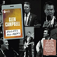 [수입] Glen Campbell - Access All Areas [CD+DVD Deluxe Edition]
