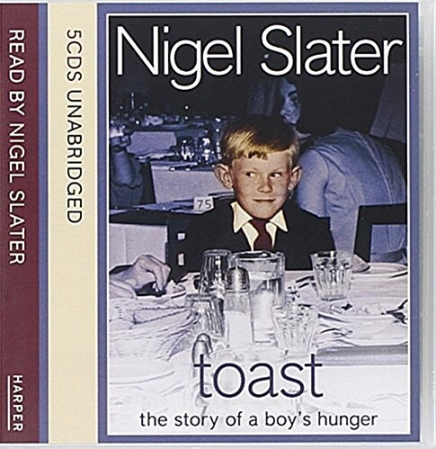 Toast : The Story of a Boys Hunger (CD-Audio, Unabridged ed)