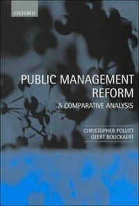 Public management reform : a comparative analysis