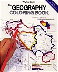 The Geography Coloring Book (Paperback)