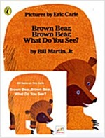 [노부영] Brown Bear, Brown Bear, What Do You See? (Paperback + CD)