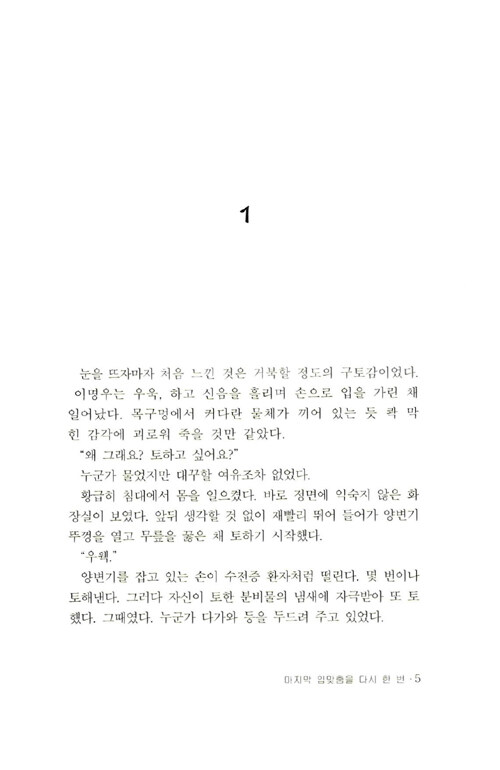 마지막 입맞춤을 다시 한번 : 최유진 장편소설