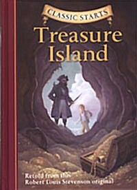 [중고] Classic Starts(r) Treasure Island (Hardcover, Revised)