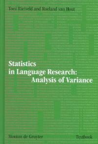 Statistics in language research : analysis of variance