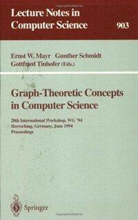 Graph-theoretic concepts in computer science : 20th International Workshop, WG'94, Herrsching, Germany, June, 1994 : proceedings