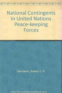 National contingents in United Nations peace-keeping forces