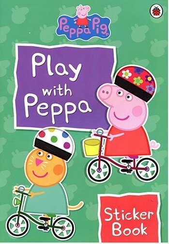 PLAY WITH PEPPA STICKER BOOK (Paperback)